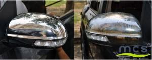 Oglinda auto polishata